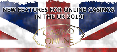 new features online casinos uk 2019
