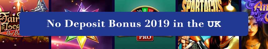 no deposit bonus 2019 uk
